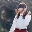桜山公園 冬桜モデル撮影会 PM編②