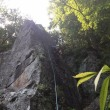 湯河原 幕岩 岩トレ