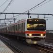 2017年10月20日,今朝の中央線 むさしの号 回送 209系500番台