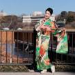 全東京写真連盟 新春晴れ着モデル撮影会1