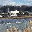 水上に太陽電池パネル3700枚が浮かぶ池