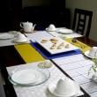 3月レギュラーメニュー ドロンマル/ハロングロットルのテーブル