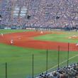 野球観戦は暑すぎ・・・