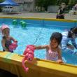 幼稚園のプール