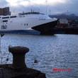 ここから、タイタニック号は処女航海に出て行った