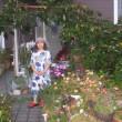 中秋の名月とおはげと枯れ庭とシニア
