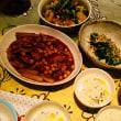 豚肉とひよこ豆の煮込み