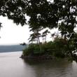 レンタカー二日目。十和田湖で。