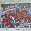 英国切手のハガキ
