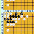 囲碁死活928官子譜