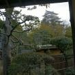 筋鉄御門と福山城