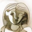 「少女の頭部」ピカソ 1926年