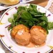 外食&海老のパン粉焼き
