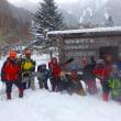 白根山の深雪に遊ぶ