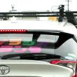 渋滞の中、ラジオ局の移動中継車と遭遇