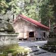 石徹白の白山中居神社と石徹白の大杉。