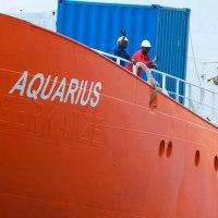 パナマ船籍AQUARIUS-2難民救助船は終了した