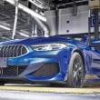 【BMW】新型「8シリーズカブリオレ」が量産1号がラインオフ。発売は2019年3月!
