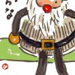 「絵手紙もらいました―サンタクロース―」について考える