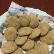 柴栗でソフトクッキーを作りました。