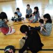 古知野中学校で幼児とふれあい