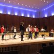11月16日(木)子どもたちの晴れ舞台、拍手喝采、お見事でした。津木文化祭で午後、発表します。