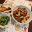 カワハギ煮付け&回鍋肉