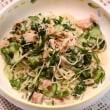 ツナマヨそうめん&豚肉の野菜巻き・クレイジーソルト