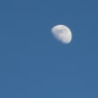 夕方になってからの青空