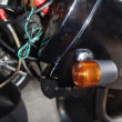 db1のウインカー修理、