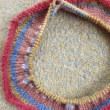 編む楽しみ