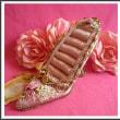 【D.AMANTE】★ピンクの薔薇と豪華な装飾♪ベルベット リングスタンド(ピンク)