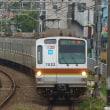 2017年9月24日  東急東横線 自由が丘 東京メトロ  7032F
