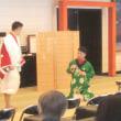 上方歌舞伎会のお稽古…。