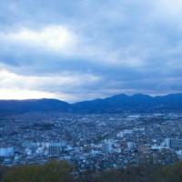 秦野権現山からのダイヤモンド富士は