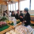 北海道当別町の「道の駅」開業記念式典に参加し挨拶しました。