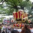 百舌鳥八幡宮🎑月見祭♪~♪ d(⌒o⌒)b ♪~♪ ふとん太鼓