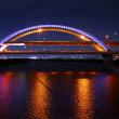 五色桜大橋ライトアップ