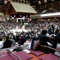 初めての大相撲観戦