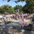10月9日(月)、上野公園ヘブンアーティスト活動