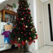 クリスマスツリー飾りました