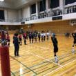 2/3小中連携事業バレーボール教室