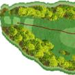 今日のゴルフ挑戦記(132)/東名厚木CC イン(A)→ウエスト