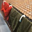 テント&寝袋を干してキャンプ終了!