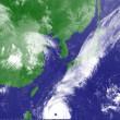 台風24号と秋雨前線とが繋がっています。台風24号は予想通り日本に来るのかなあ。心配です。