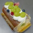 シャインマスカットのロールケーキ