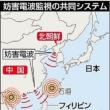 中朝が発する妨害電波を、日本、ベトナム、フィリピン、インドネシア各国で共同監視