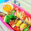 [小樽]娘の今日のお弁当・焼き肉弁当です。