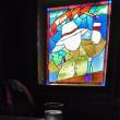 北海道小樽の旅-6・・・北一硝子のバーのステンドグラス♪ 2017.9.10