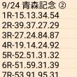 🚴 9/24 青森記念 ②